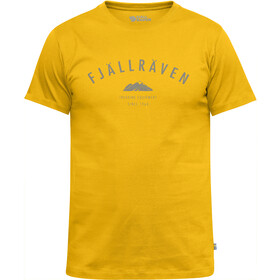 Fjällräven Trekking Equipment T-Shirt Men warm yellow